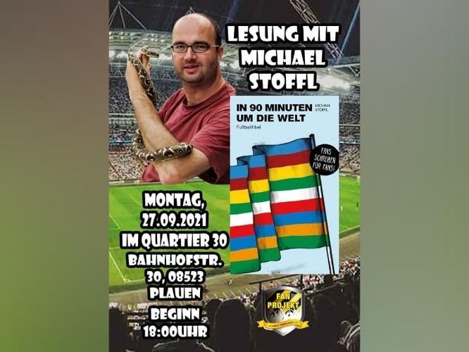 Lesung Micheal Stoffl