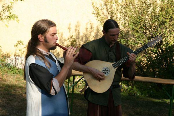 mittelalterliche Klänge im Bauernmuseum