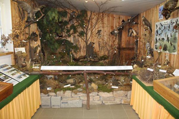 Naturschutzinformation Waldhaus