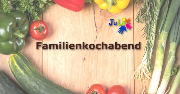 Familienkochabend Banner