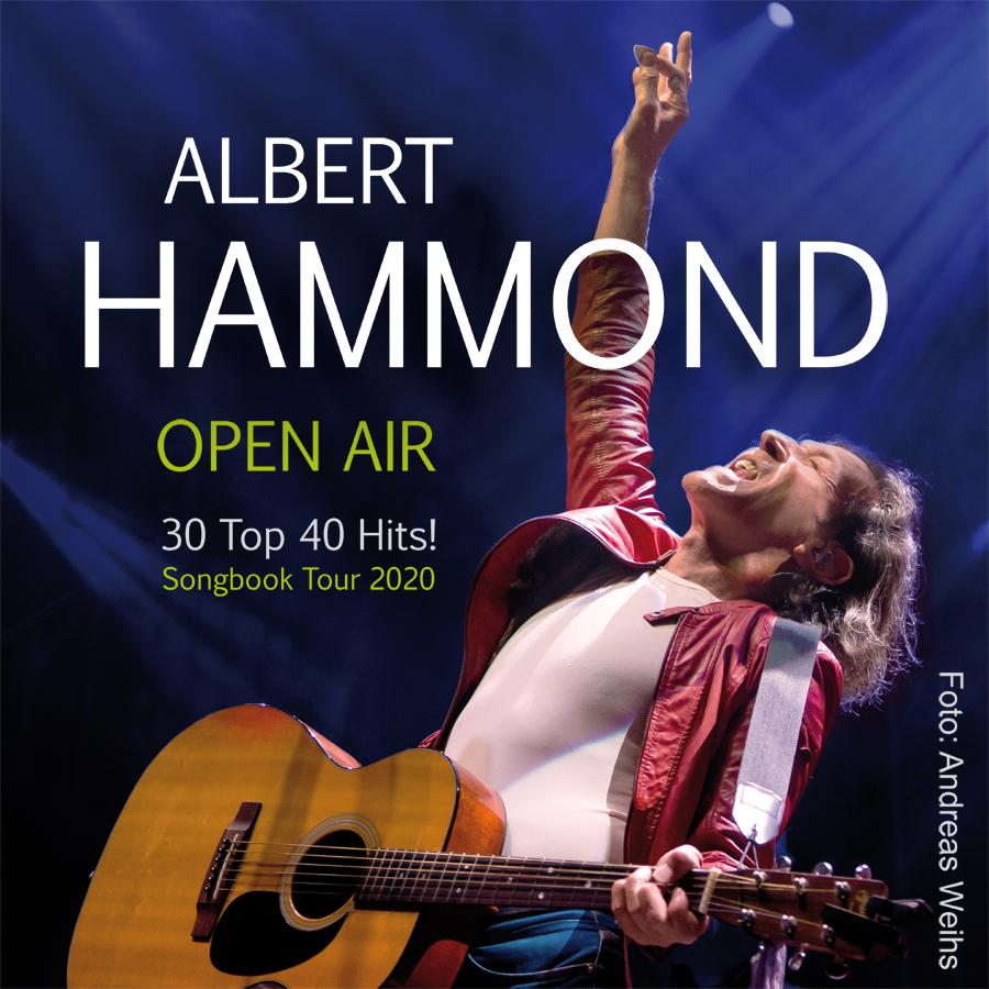 Albert Hammond im Parktheater Plauen