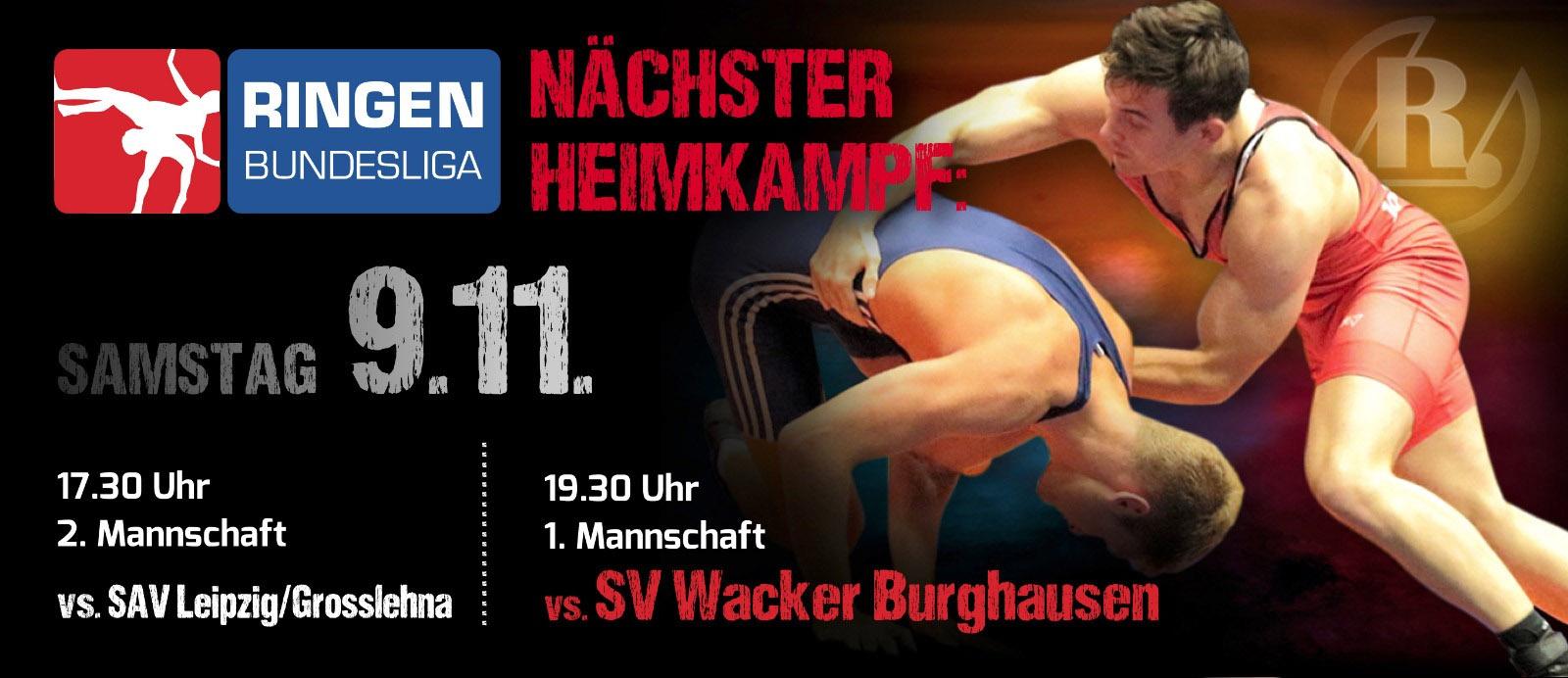 RSV Rotation Greiz gegen SV Wacker Burghausen